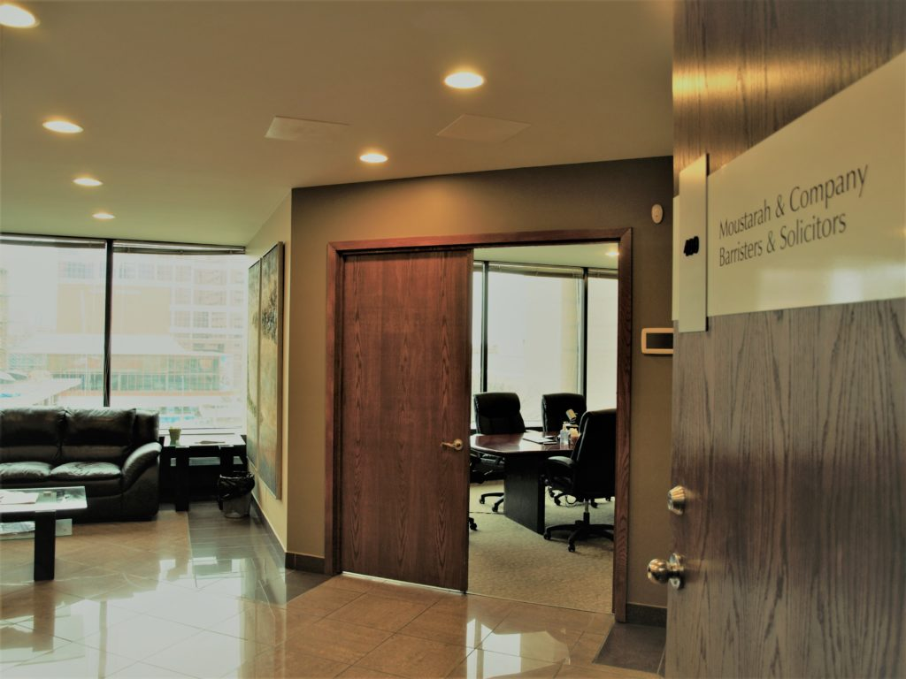 Personal Injury Lawyer Office