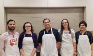 Moustarah volunteer Hope Mission Soup Kitchen