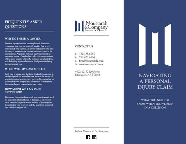 collision vehicle brochure
