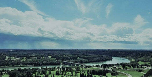 edmonton skyline