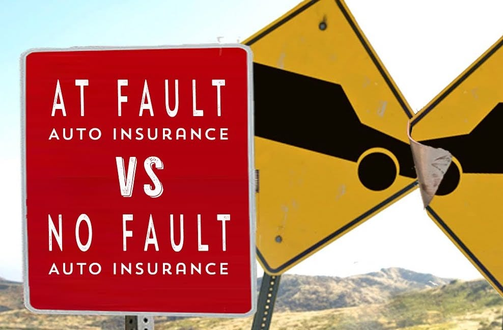 The Difference Between No-Fault and At-Fault Insurance
